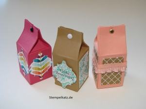 Stampin Up Mini Milchkarton