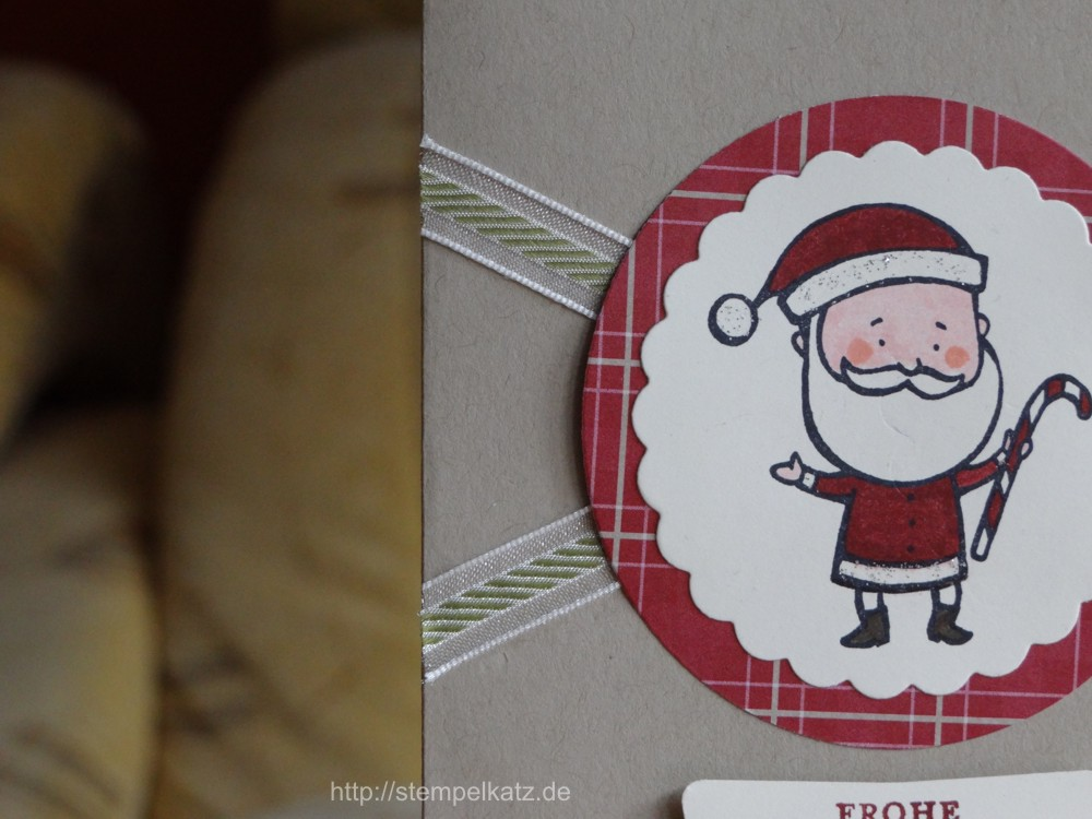 stempel weihnachtsmann color me christmas