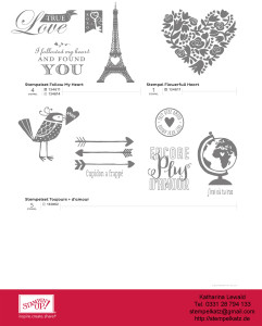 stampin up valentinstag