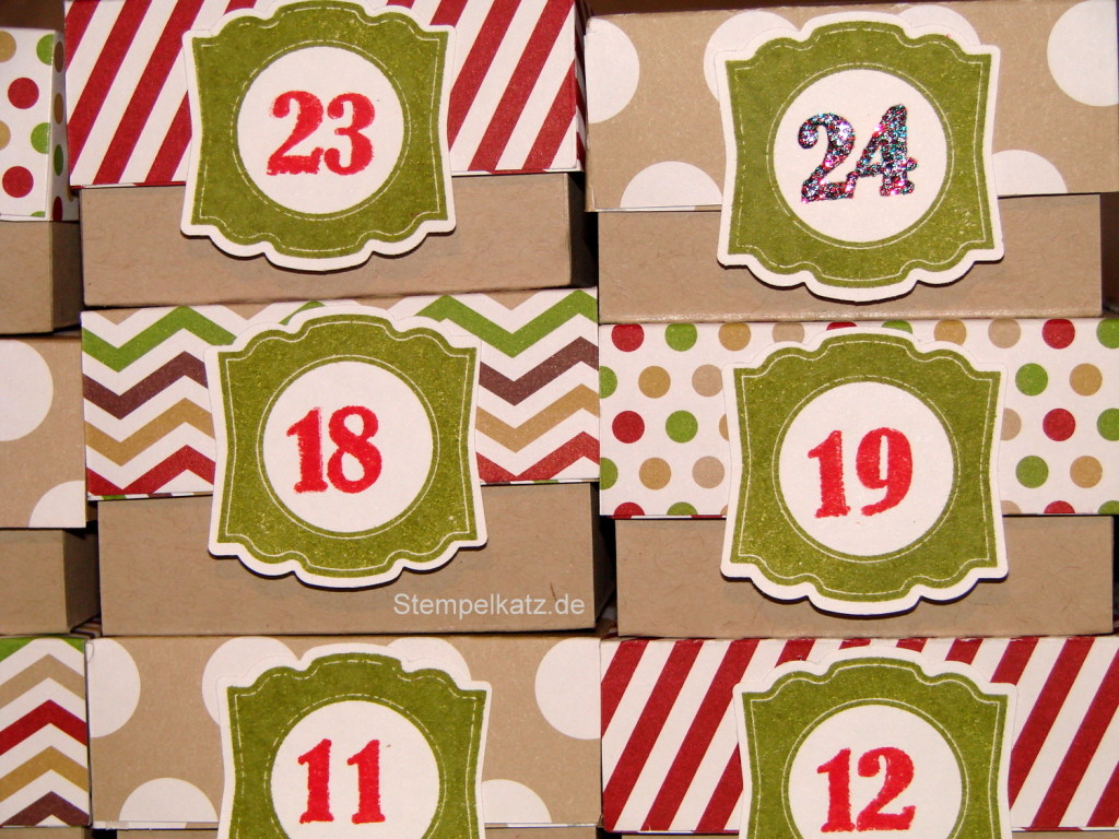 Stampin' Up! Adventskalender