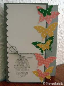 stampin up osterkarte